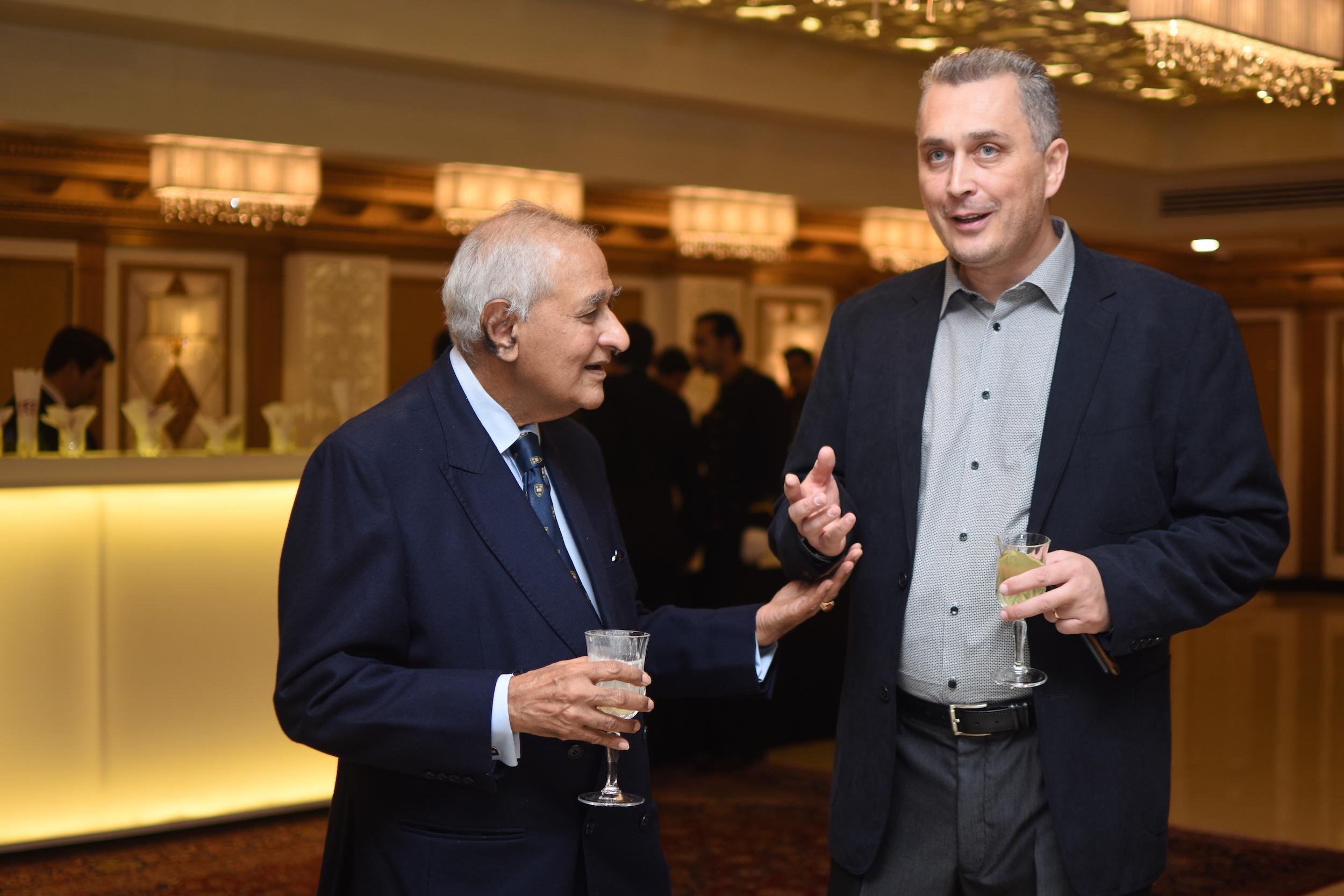 Ambassador Tariq Osman Hyder and Tariq Osmi Mamu