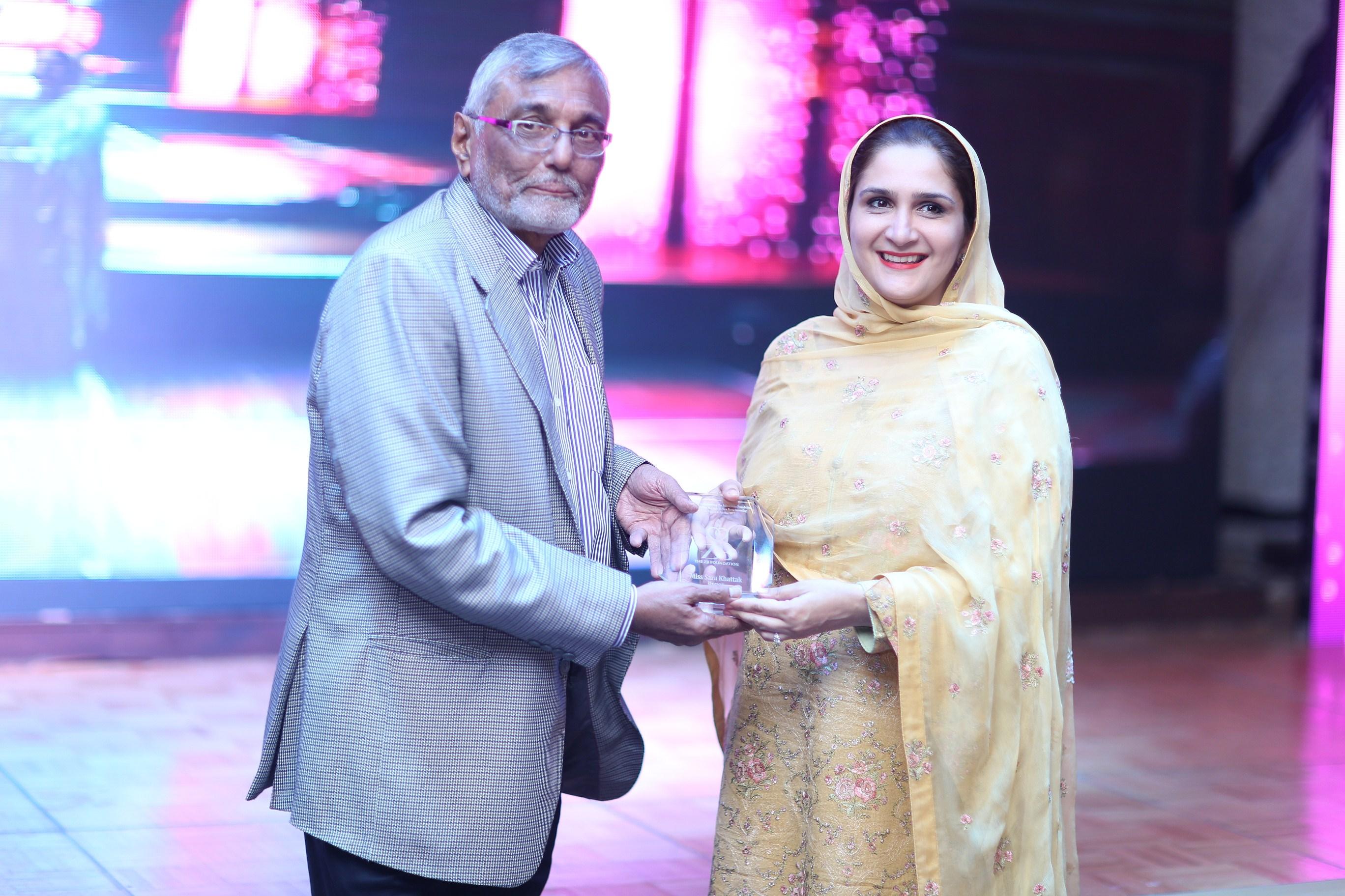 Mr Ali Javed Naqvi and Mrs Sara Khattak