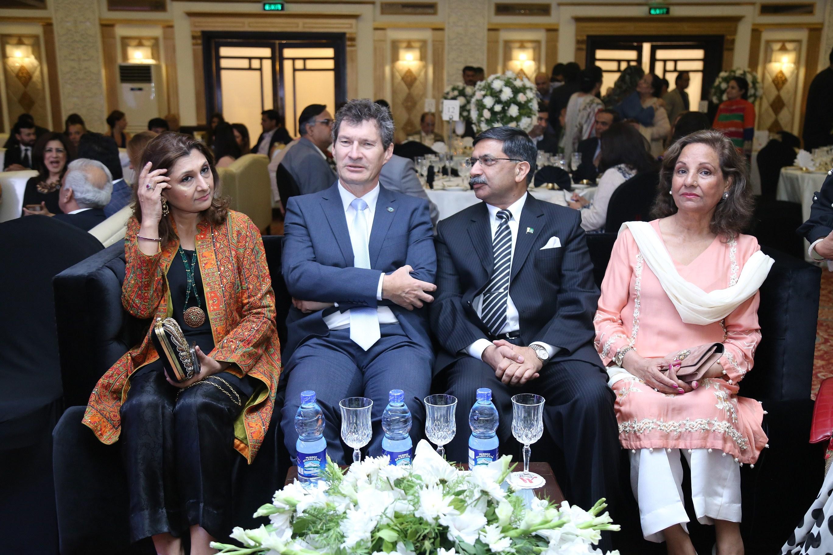 Saima Mansoor, Nail Buhnes (United Nations) General Ijaz Chaudhry