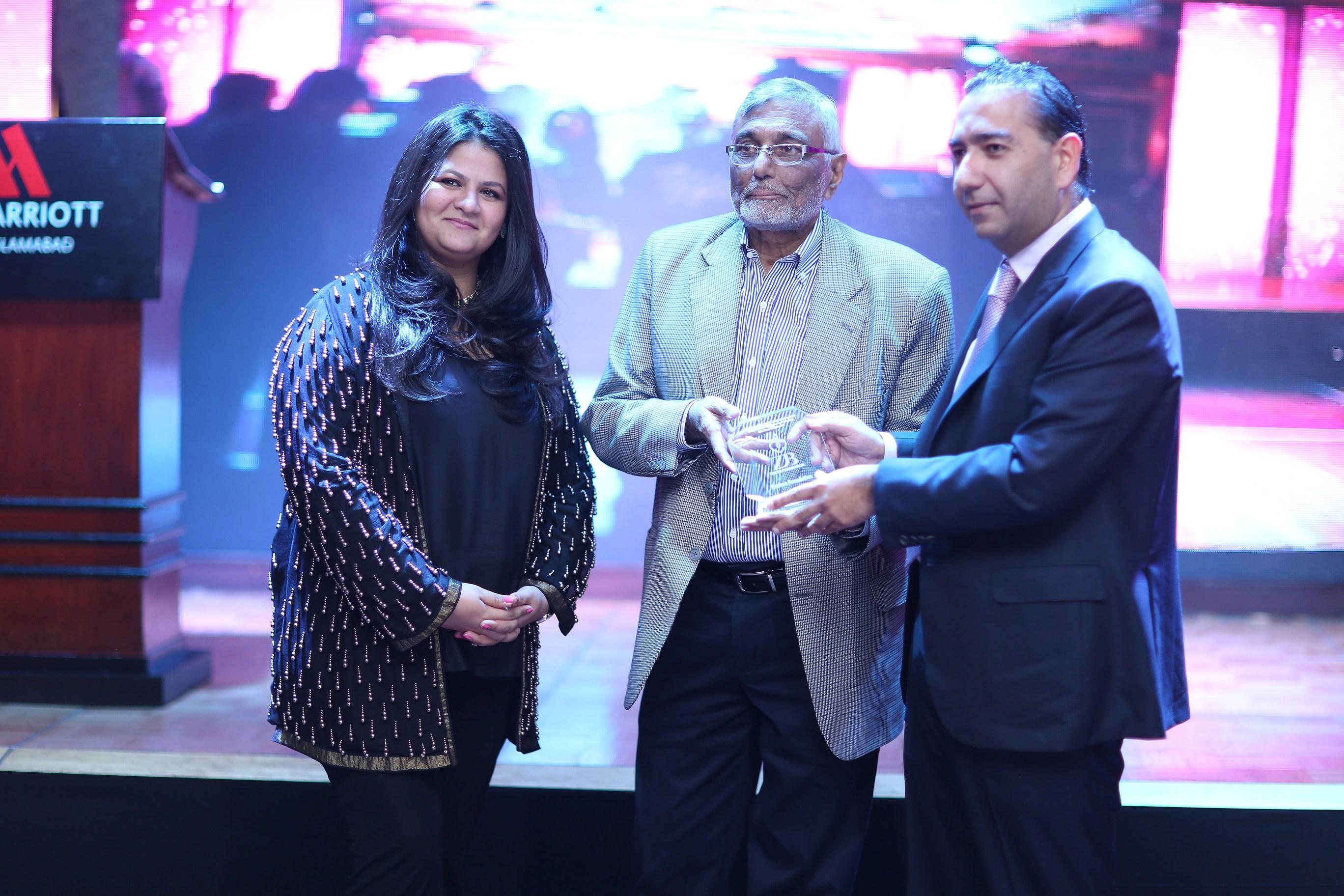 Sumeriah Hashwani, Chairman of The ZB Foundation Mr Ali Javed Naqvi and Mr Murtaza Hashwani