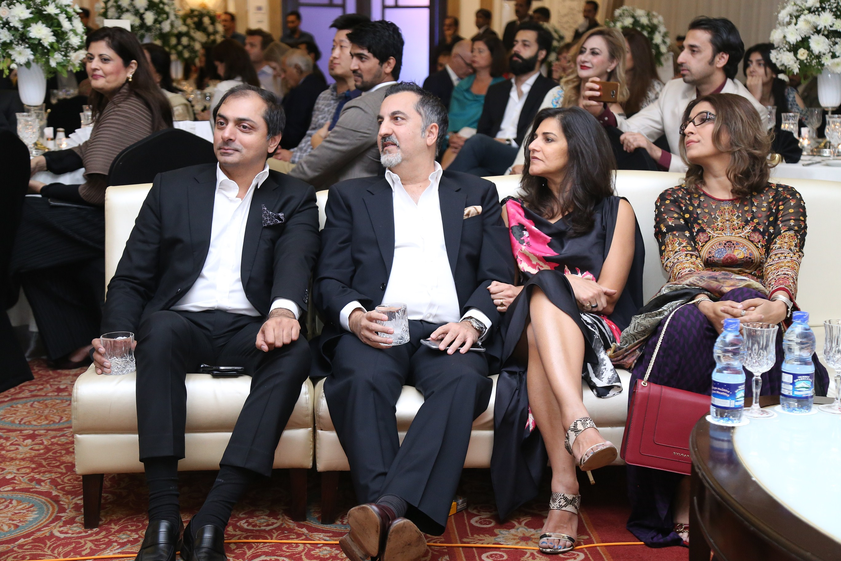 Uzman Khan, Masood Afridi, Vaneeza Ahmad